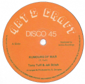 Tony Tuff & Jah Stitch - Rumours Of War / Art & Craft Players - version (Art & Craft/Archive) UK 12""